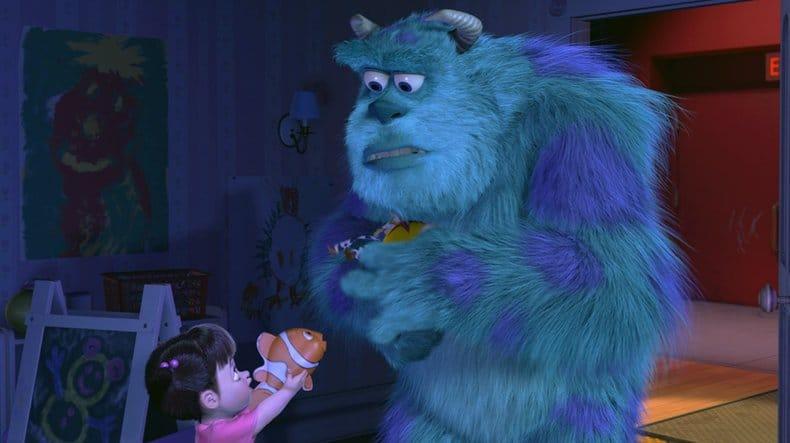 Boo gioca con Nemo
