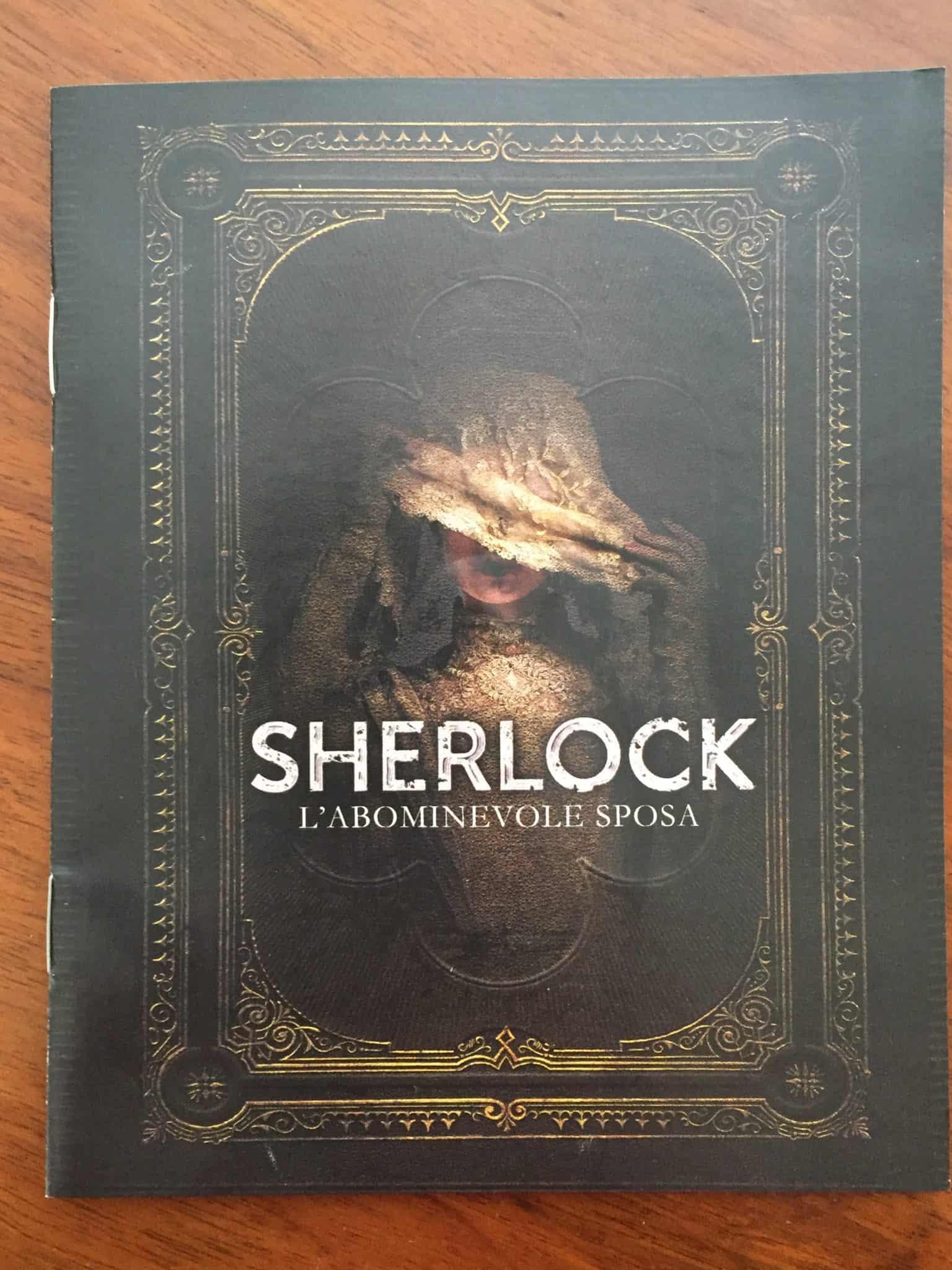 Booklet Sherlock l'abominevole sposa