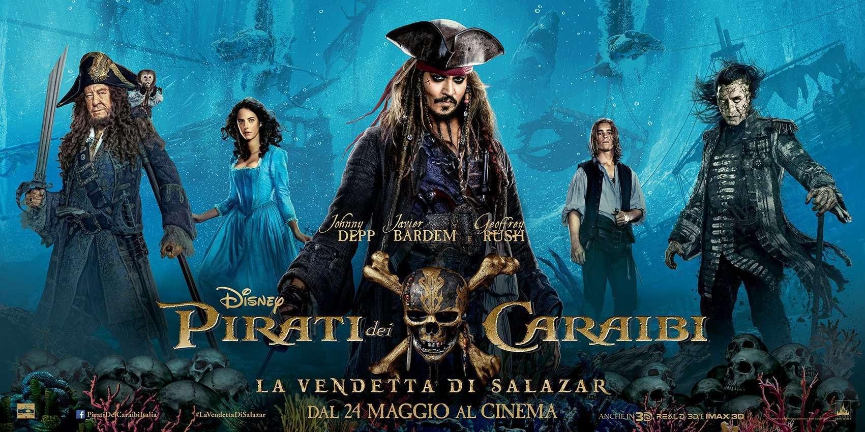 """Photo of """"Pirati dei Caraibi – La vendetta di Salazar"""": da oggi nelle sale italiane il quinto capitolo dell'omonima saga"""