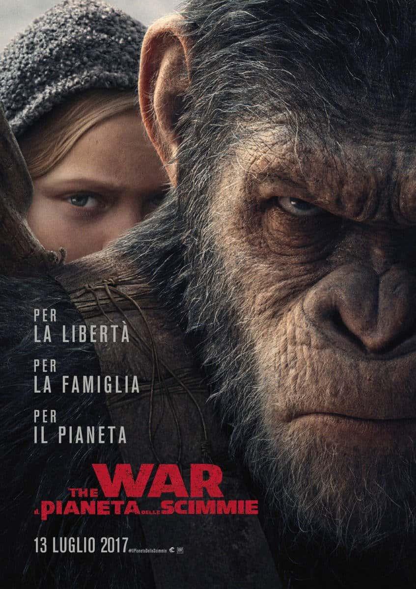 Photo of The War: Il Pianeta delle Scimmie, ottime recensioni per il film di Matt Reeves
