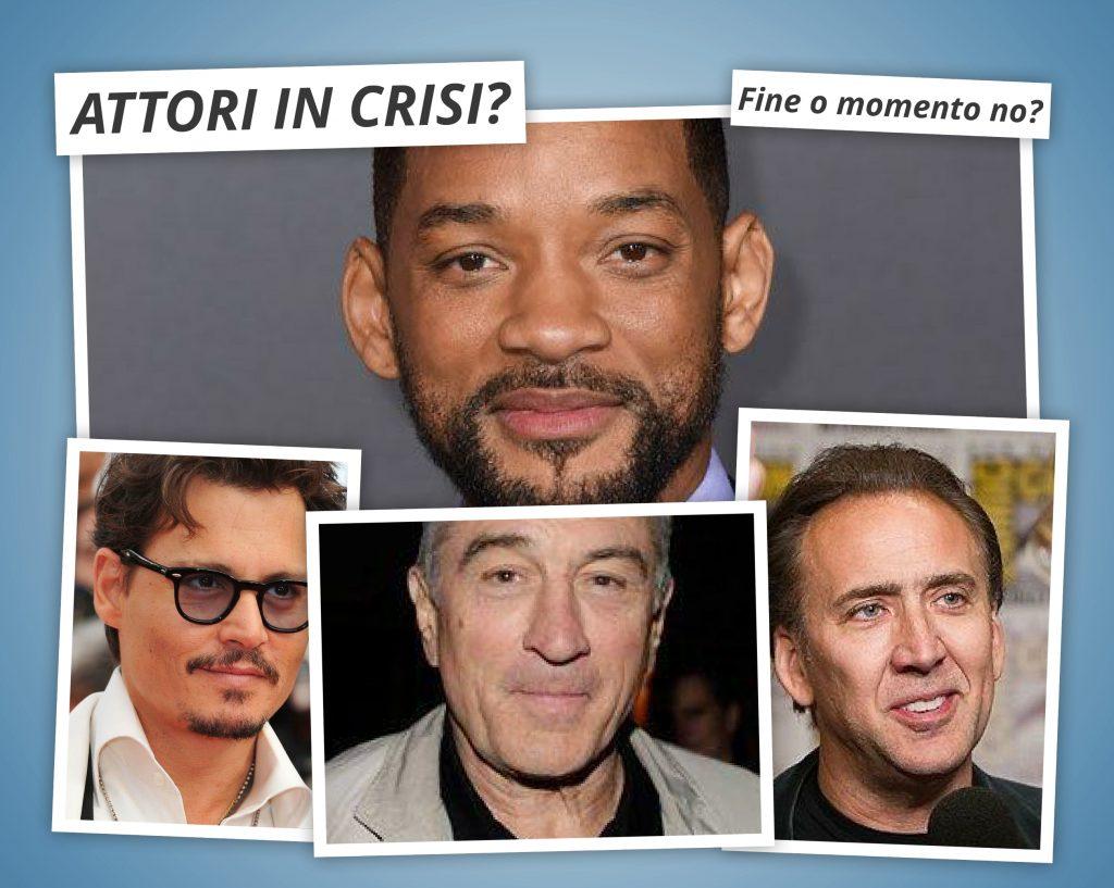 4 attori in crisi
