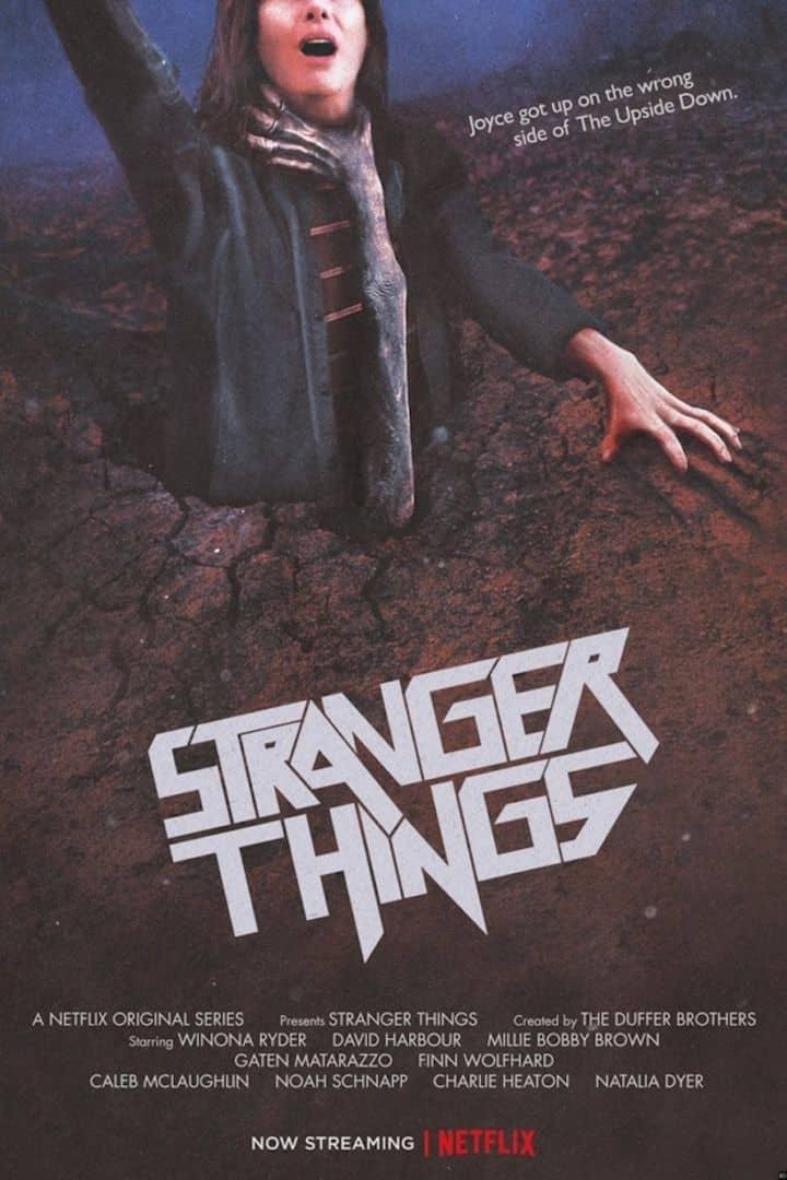 stranger things poster anni '80