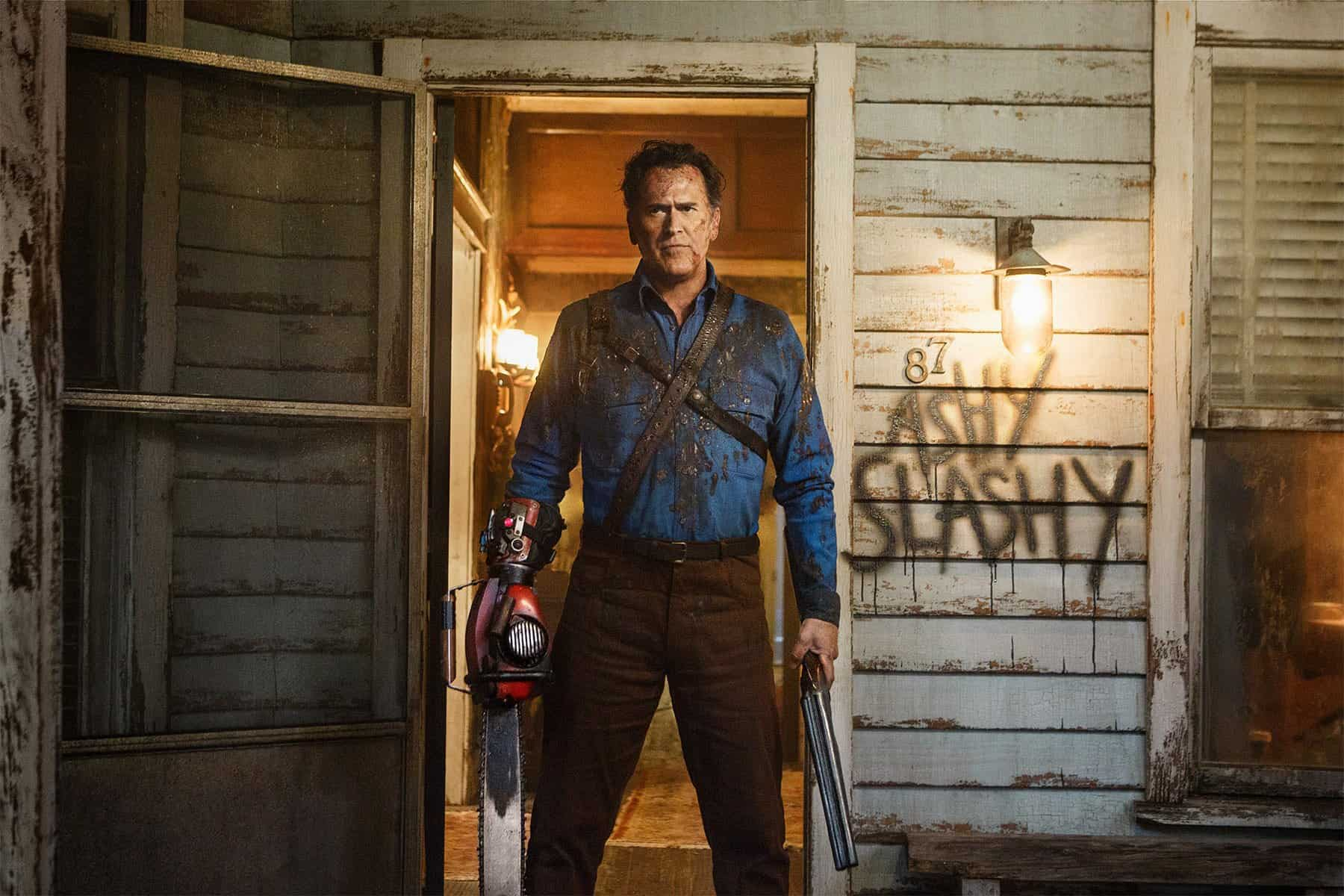 "Photo of ""Ash Vs Evil Dead"" – La Terza Stagione ha una data ufficiale!"