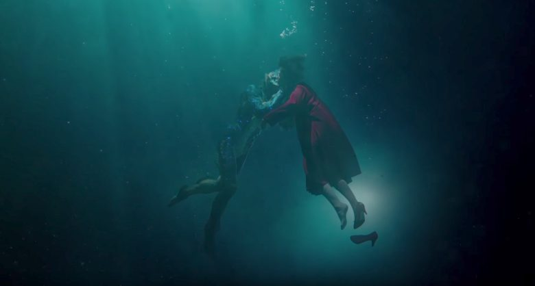 The Shape Of Water trailer italiano guillermo del toro