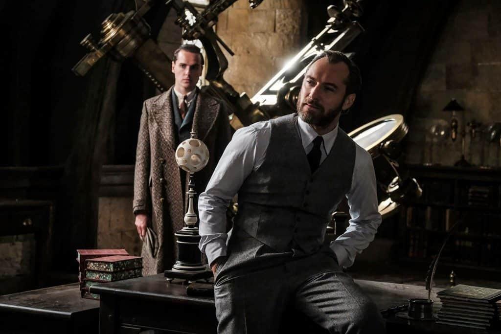 Jude Law, Animali Fantastici - I crimini di Grindewald, Jude Law Silente