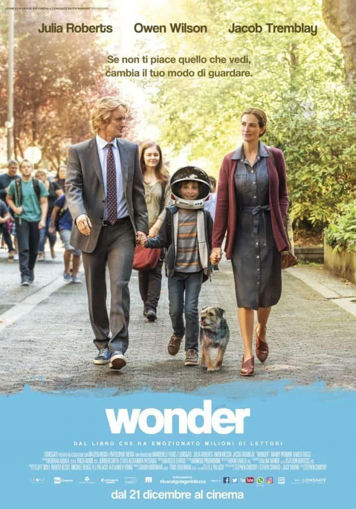 Wonder Recensione Julia Roberts Owen Wilson