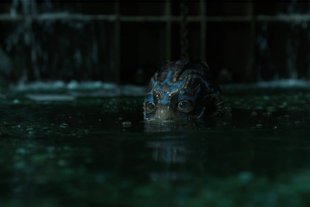 the shape of water curiosità guillermo del toro