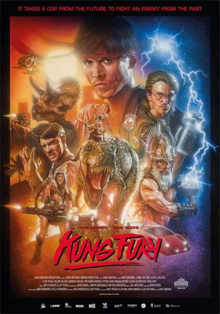 Kung Fury Arnold Schwarzenegger nel film