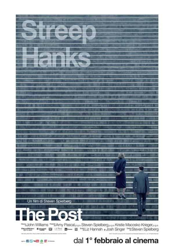 The post recensione film Steven Spielberg