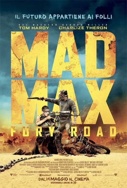 Mad Max Fury Road Recensione Tom Hardy