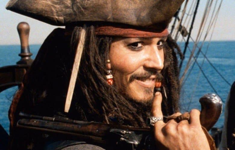 Jack Sparrow pirati dei caraibi