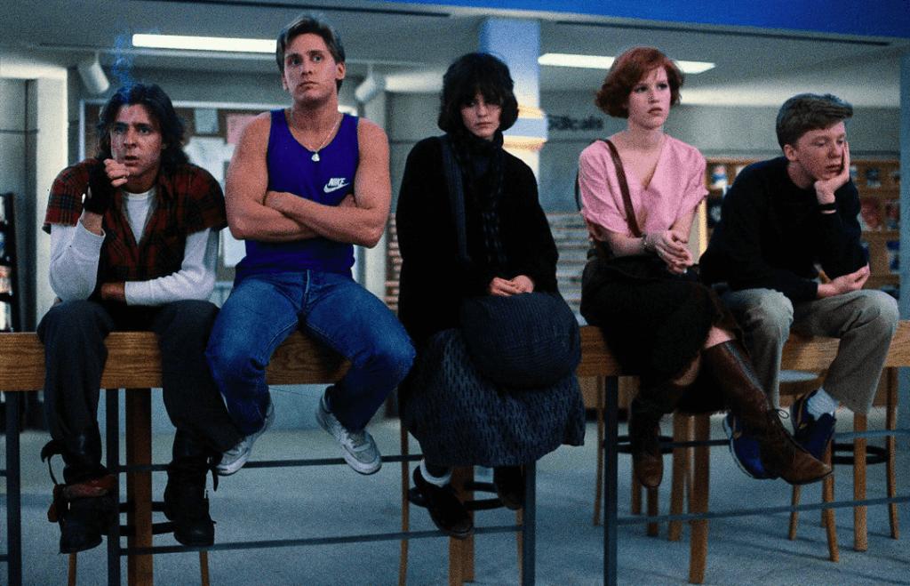 film generazionali anni 80 the breakfast club