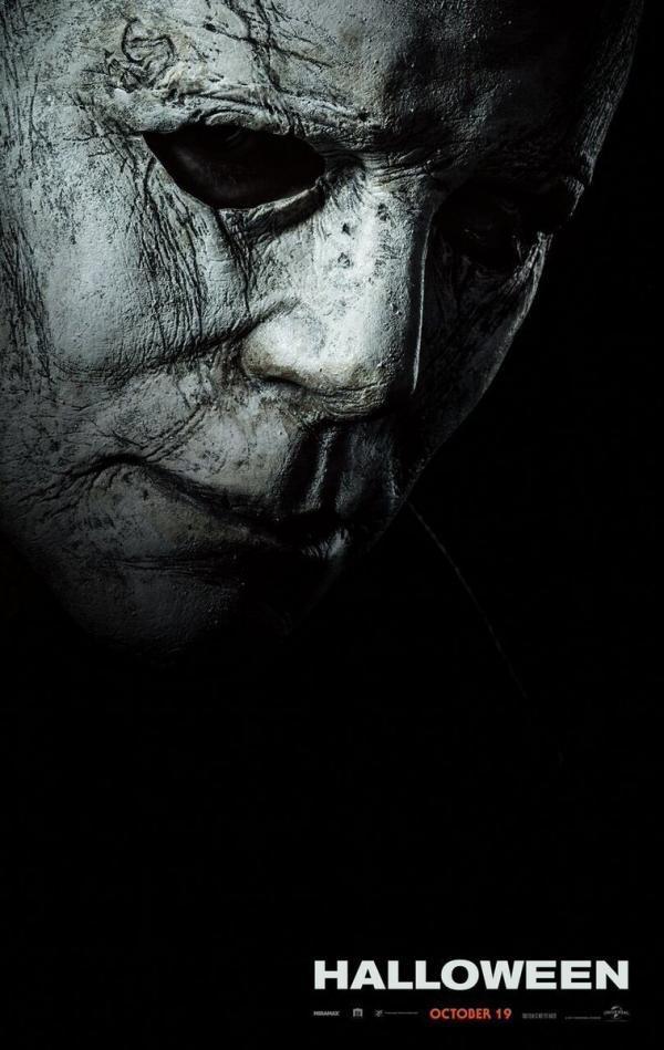 Halloween maschera Michel Myers teaser poster