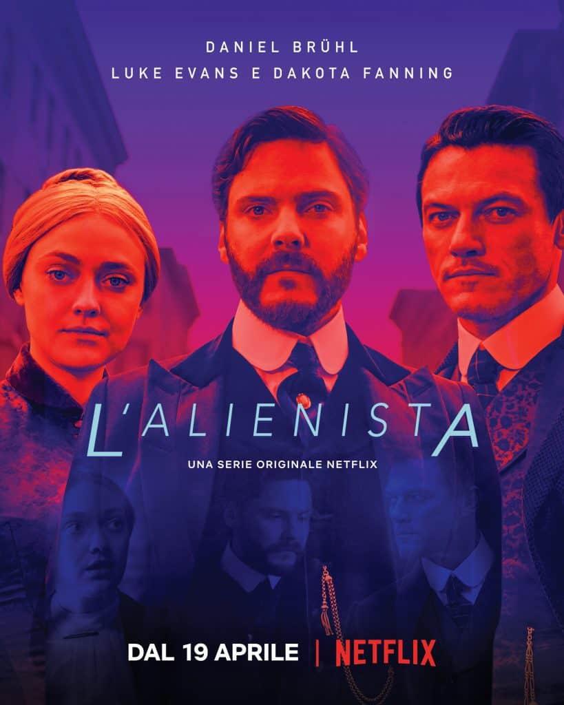 L'Alienista locandina personaggi serie Netflix
