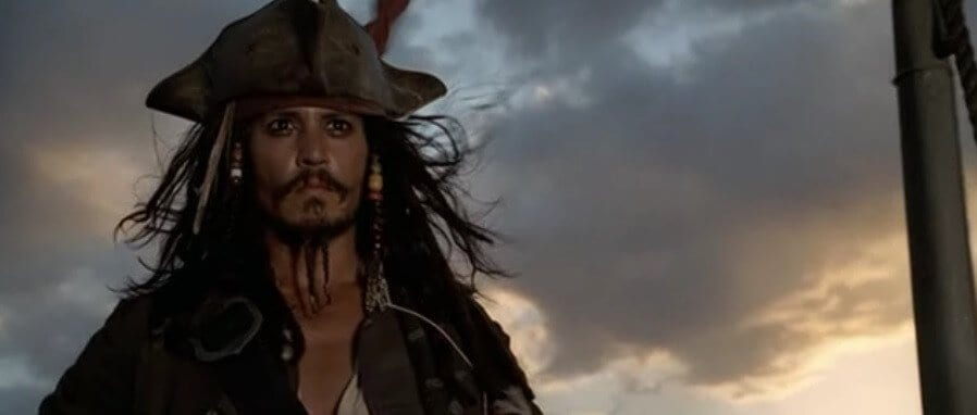 personaggi iconici Jack Sparrow