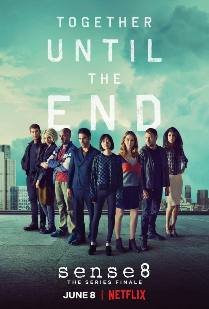 Sense 8 Netflix data poster episodio finale
