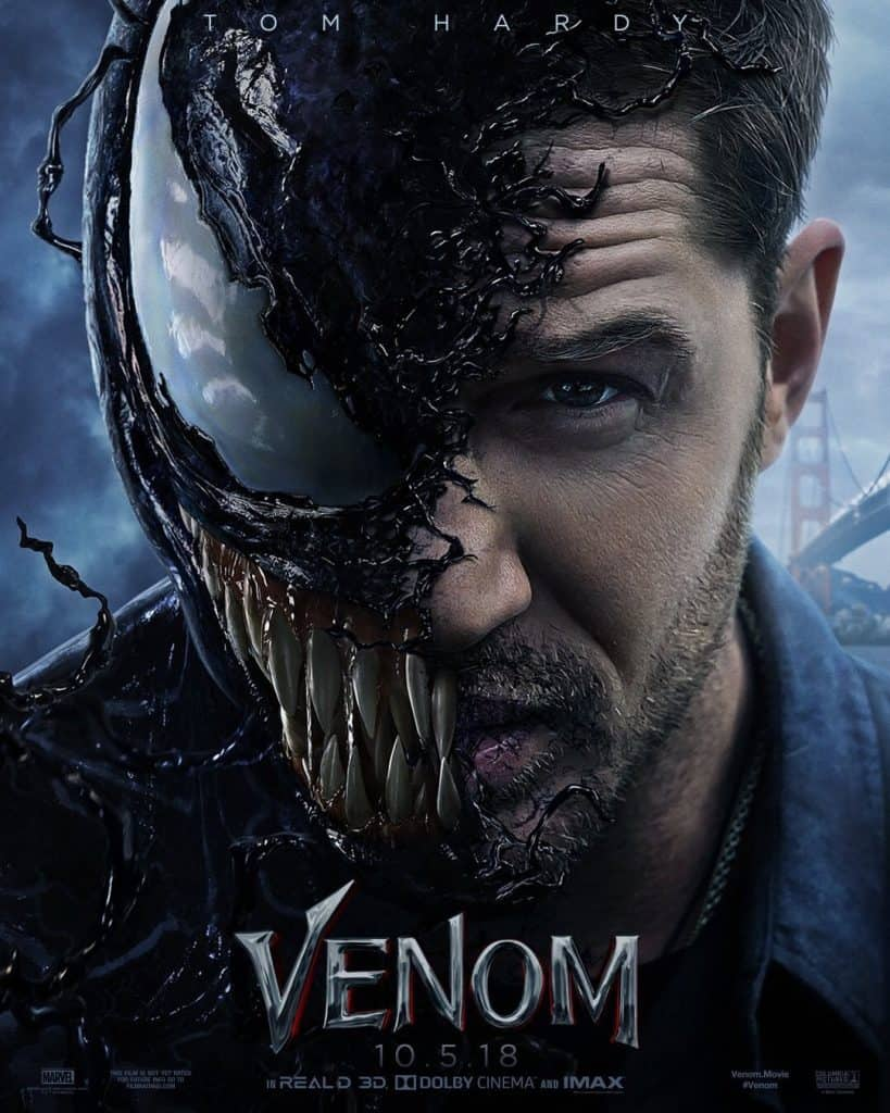 Venom trailer Tom Hardy simbionte