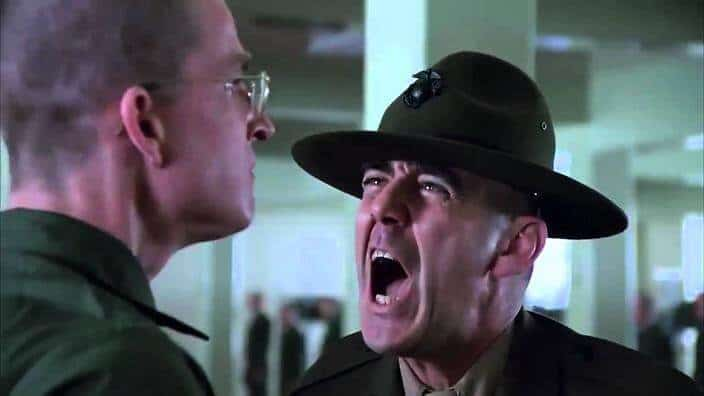 morto R Lee Ermey sergente Hartman Full Metal Jacket