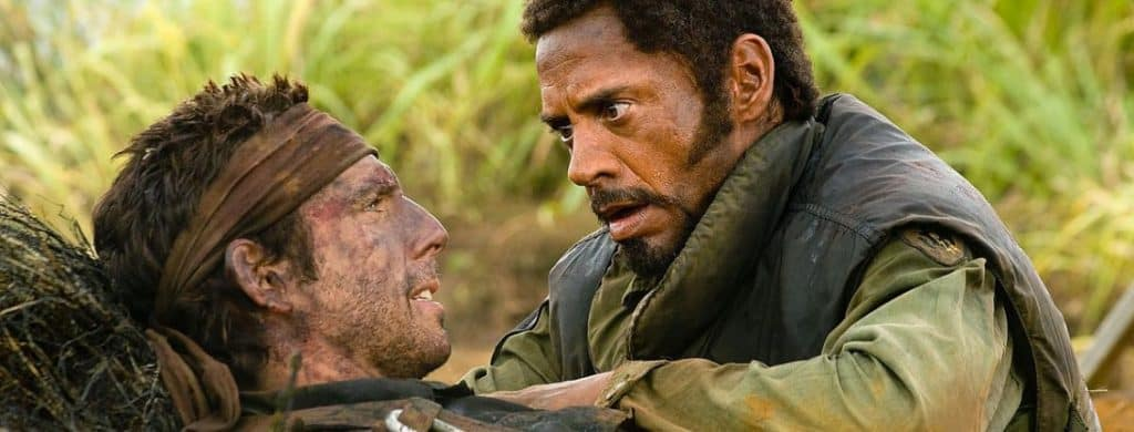 tropic thunder lingua originale