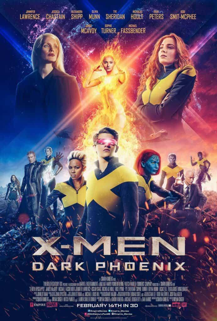 x men dark phoenix trailer