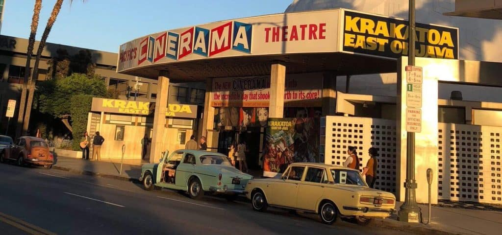 once upon a time in hollywood riprese