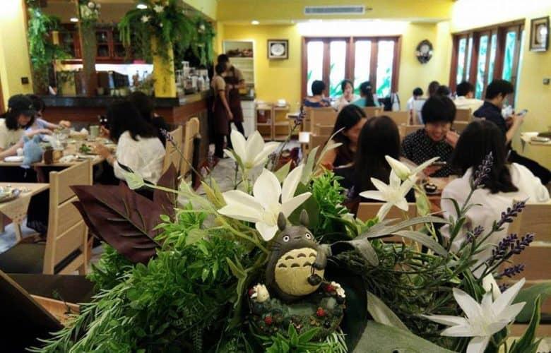 totoro ristorante studio ghibli