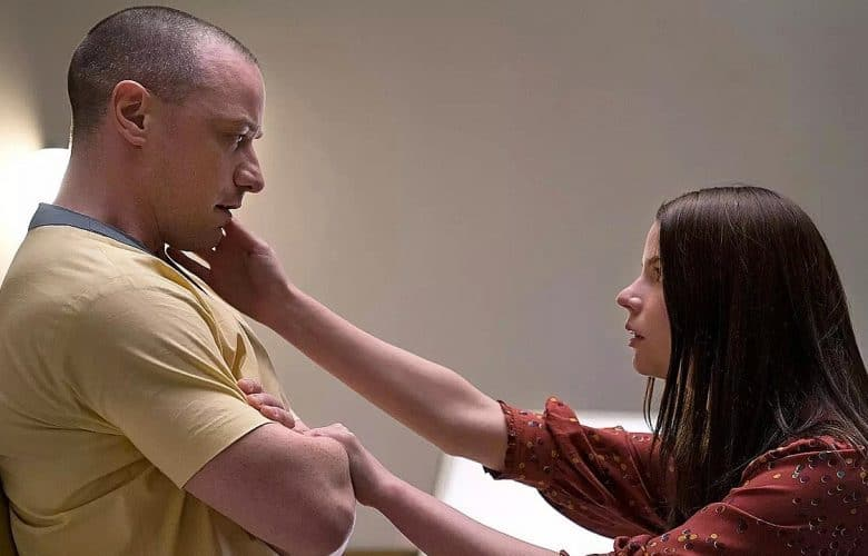 Glass Trailer Split James McAvoy