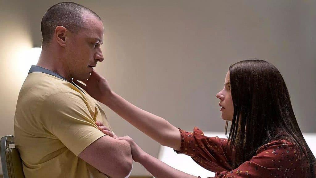 Glass Trailer Split James McAvoy