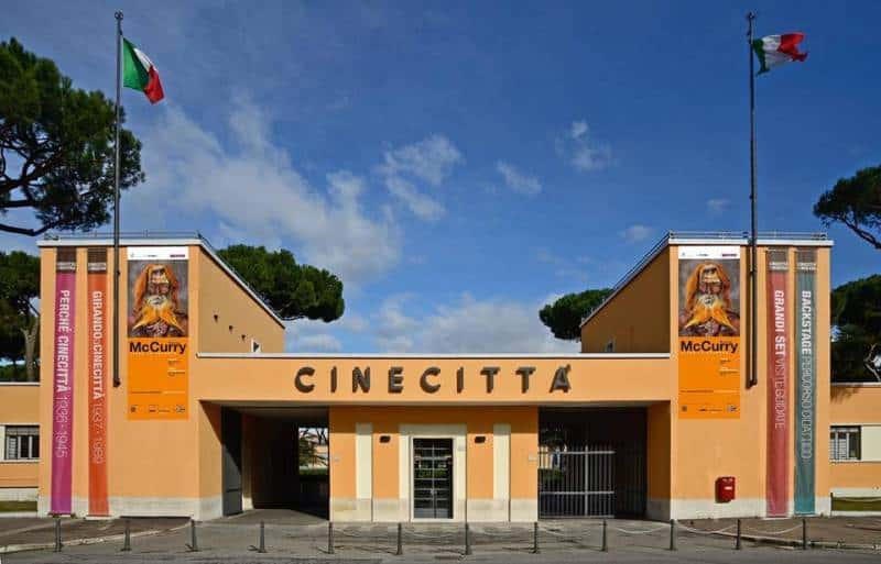 cineciittà incendio