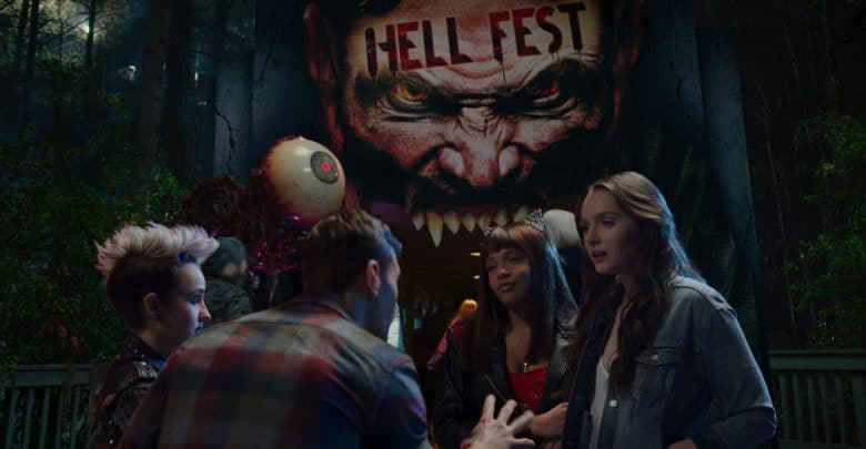 Photo of Hell Fest – Uscito il teaser trailer del film con Amy Forsyth e Reign Edwards