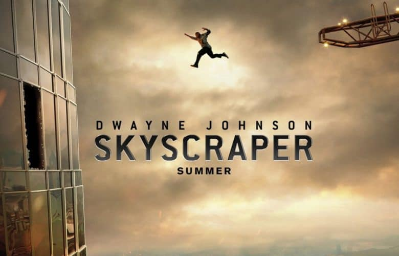 skyscraper trailer dwayne johnson