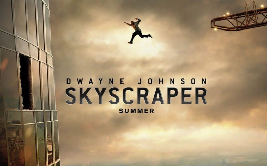 skyscraper trailer dwayne johnson