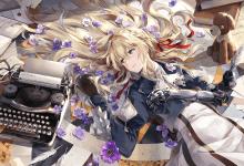 violet evergarden recensione