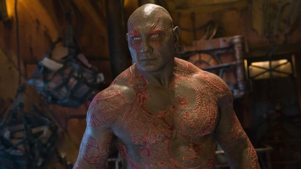 guardiani della galassia drax james gunn