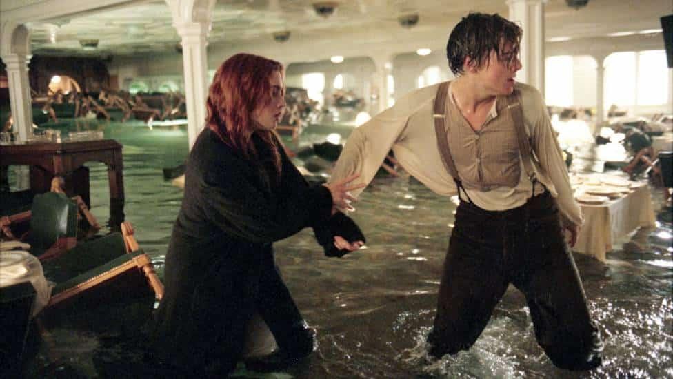 titanic al cinema