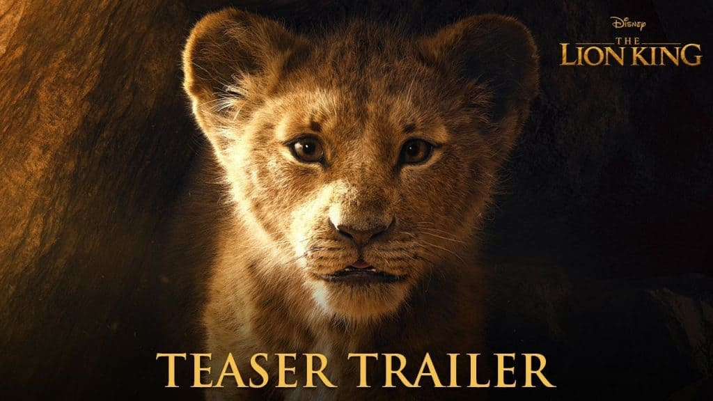 Il re leone trailer