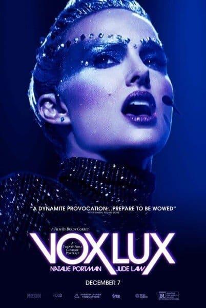 vox lux nuovo trailer ufficiale
