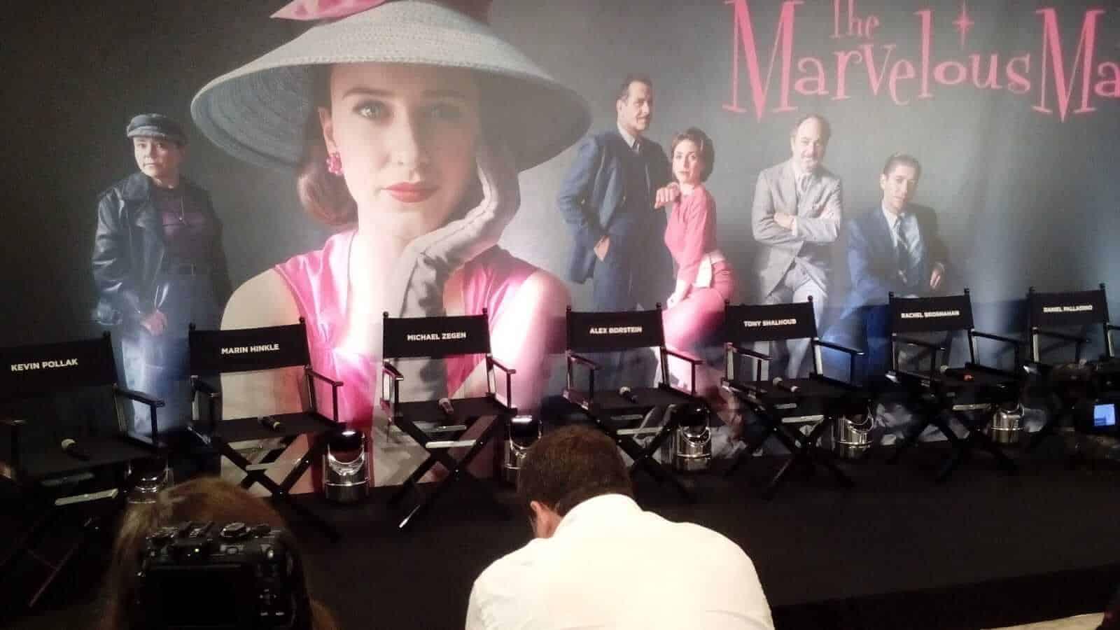 La fantastica signora Maisel conferenza stampa