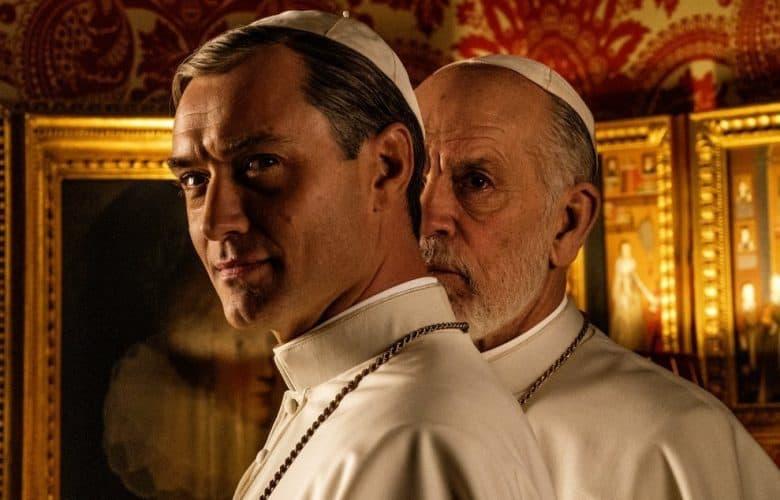 The New Pope Jude Law John Malkovich prima immagine