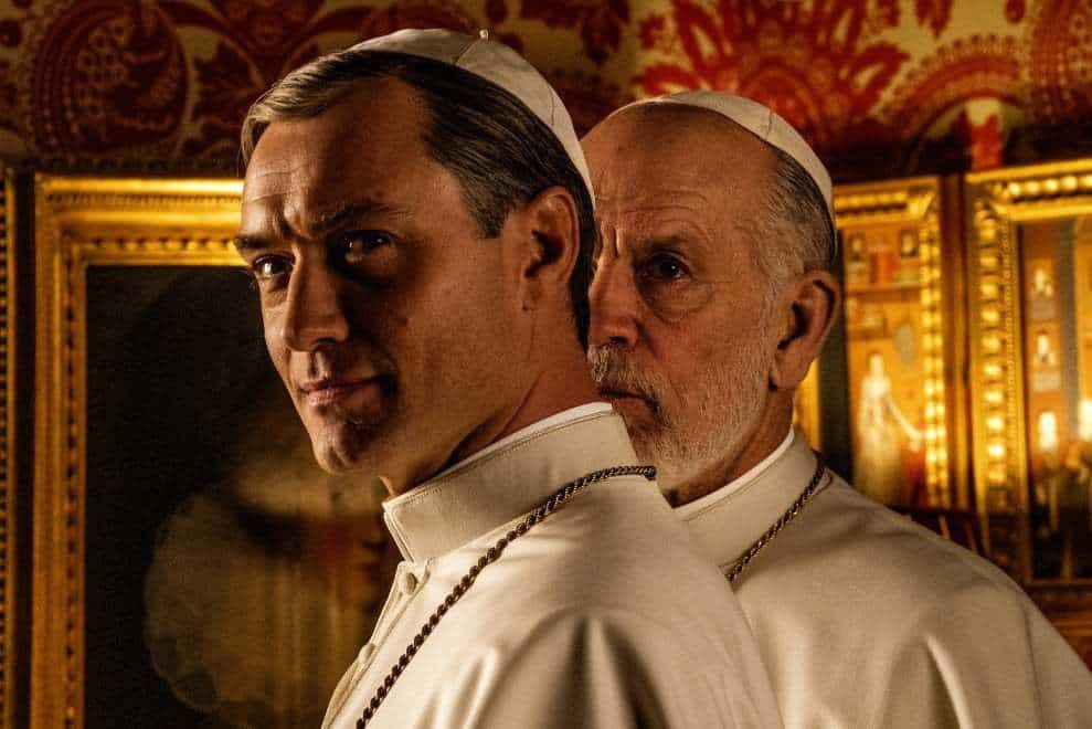 The New Pope Jude Law John Malkovich prima immagine