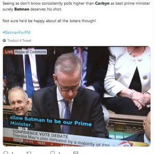 batman primo ministro