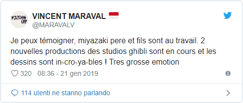 hayao miyazaki nuovi film