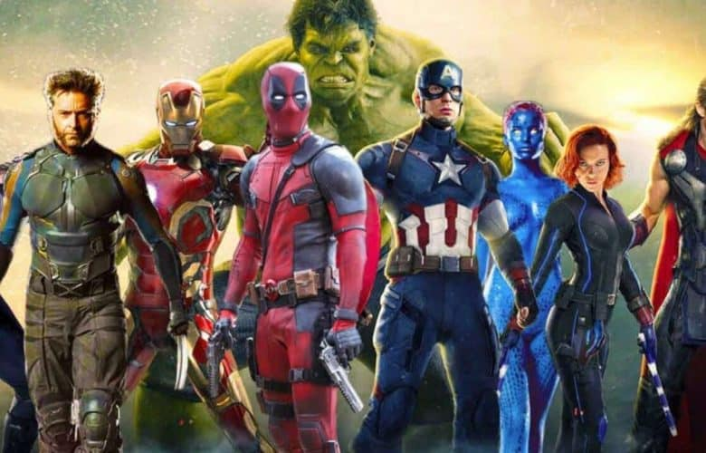 x men fantastici 4 deadpool marvel cinematic universe