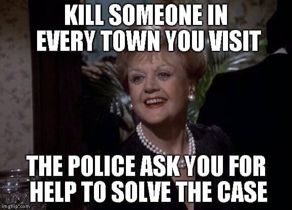 Jessica Fletcher Signora in Giallo Serial-Killer