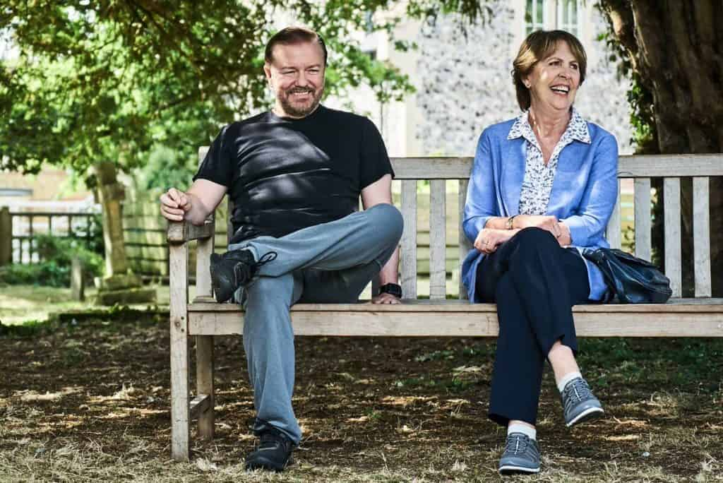 after life recensione serie tv ricky gervais