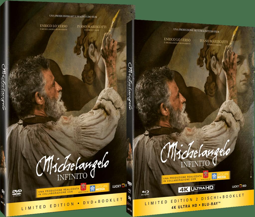 Michelangelo Infinito dvd bd 4k