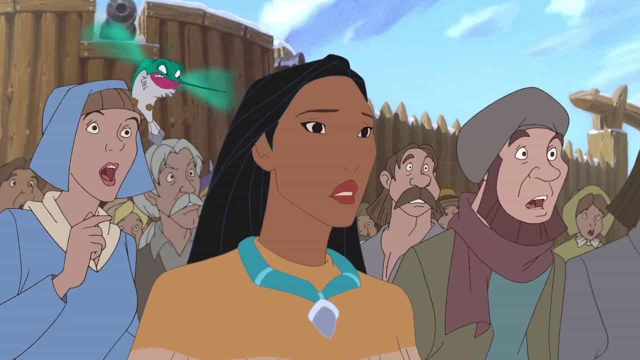 Pocahontas storia vera