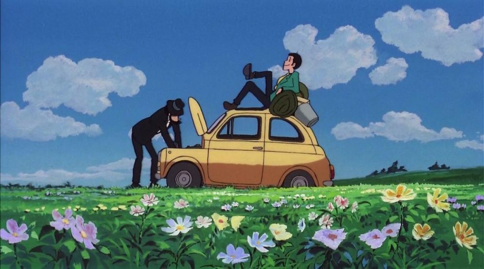 Lupin castello cagliostro film animazione giapponese