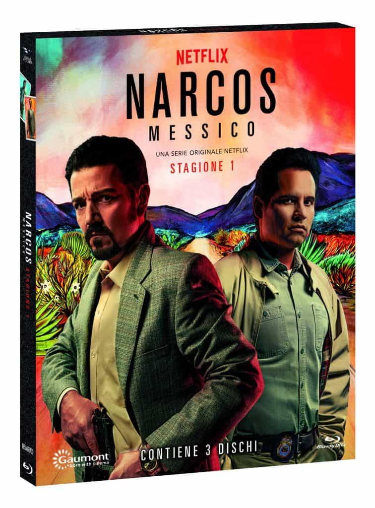 Cofanetto Narcos Messico in blu ray