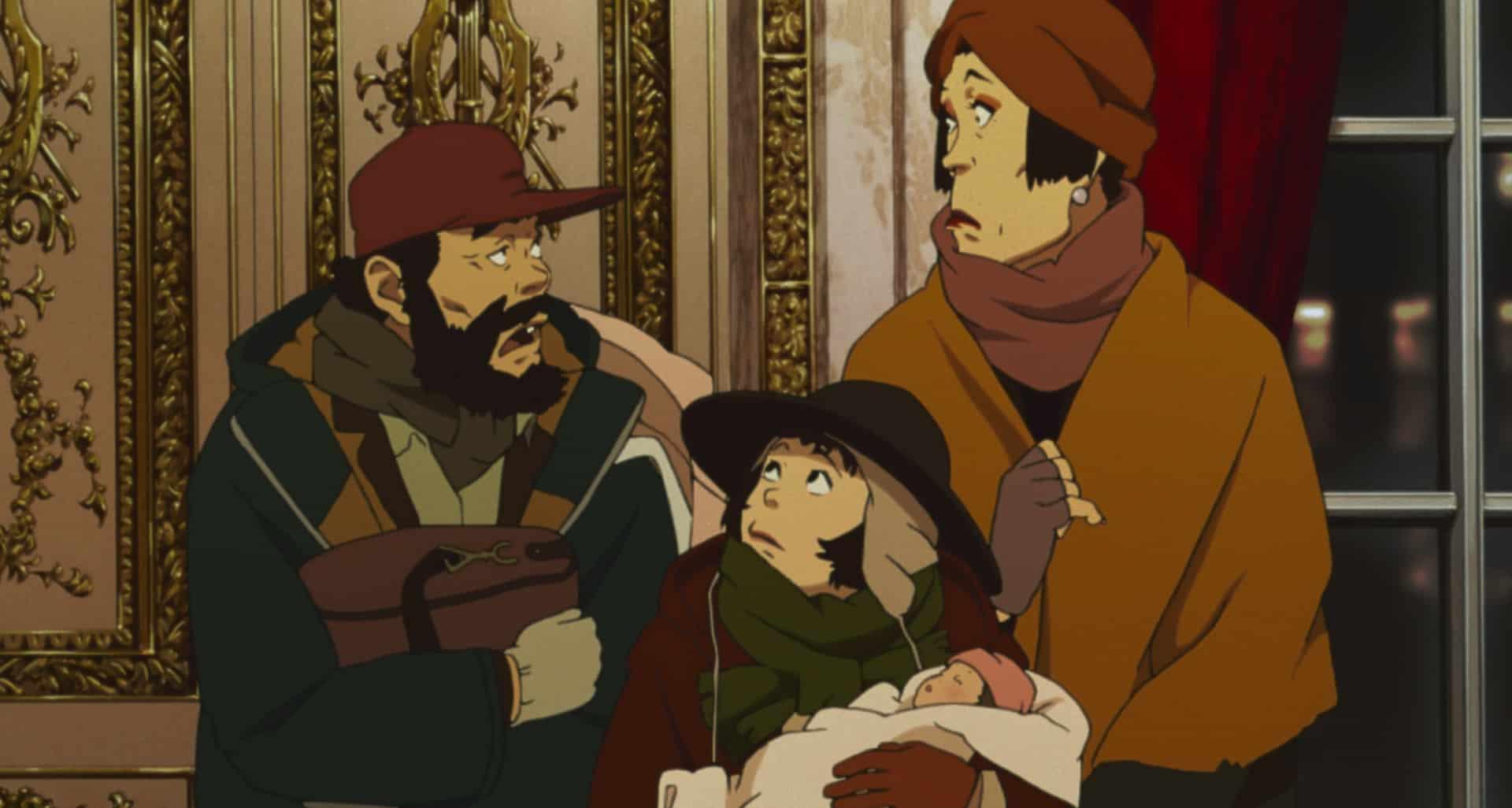 tokyo godfathers film animazione giapponese